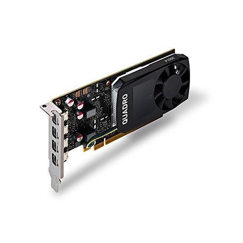 PNY VCQP1000DVI-PB Nvidia Quadro P1000 Grafikkarte (4GB) schwarz - 2