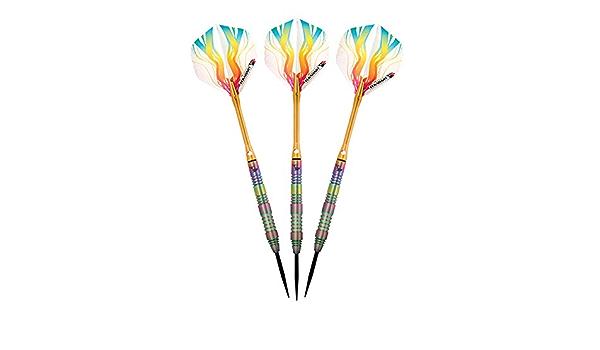 Elkadart Rainbow Tungst/ène Corps F/ûts Darts-3-pack