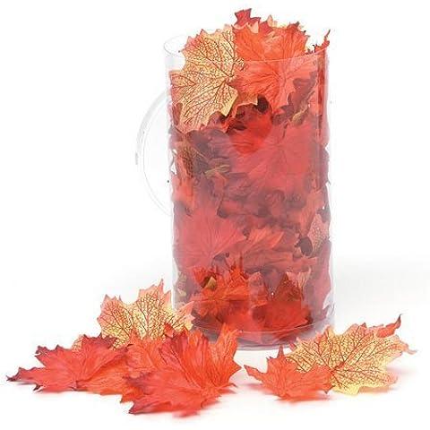 Bulk Buy: Darice DIY Crafts Maple Leaves Silk Screen Orange Mix (18-Pack) 1620-98 by Darice Bulk Buy - Maple Silk Tree