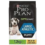 PRO PLAN Large Puppy Athletic avec OPTISTART Riche en Poulet - 12 KG - Croquettes...