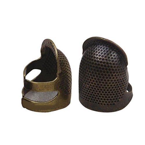 ROSENICE Protector de Dedo Del Dedal dedal Protector de Escudo de Meta