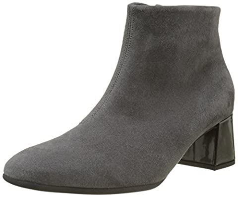 Gabor Shoes Damen Gabor Basic Stiefel, Grau (39 Dark-Grey/Steel), 42 EU