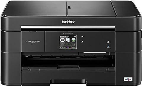 Brother MFC-J5320DW Farbtintenstrahl-Multifunktionsgerät (Scanner, Kopierer, Drucker, Fax, Duplex, WLAN, USB 2.0) (Una Fotocopiatrice Scanner)