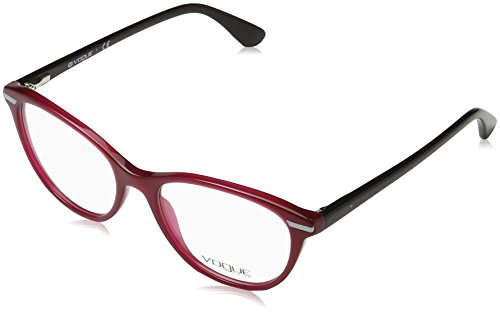 Vogue - VO 2937, Schmetterling, Acetat, Damenbrillen, RED BLACK(2391), 51/17/140