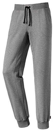 Michaelax-Fashion-Trade -  Pantaloni sportivi  - relaxed - Basic - Uomo Grey - Stahl-meliert (9017)