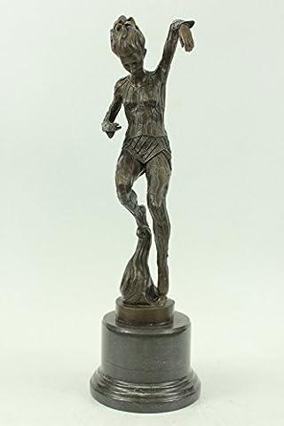 Handmade Bronze Skulptur Bronze Statue zeichnetes Original Aldo Vitaleh Professionelle Tänzer Ballerina Lrge-JPxn-2250- Decor Sammler Geschenk