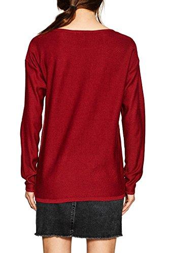 ESPRIT Damen Pullover Rot (Garnet Red 620)