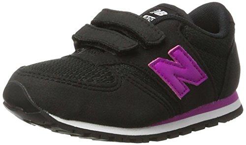 Nero 23.5 EU New Balance 420v1 Sneaker Unisex Bimbi Black/Pink alr