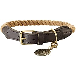 Hunter Collar con Lista de Cuerda,