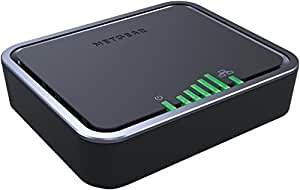 Netgear LB2120-100PES Modem 4 G LTE/3 G, 2 Porte Gigabit WAN, Backup Linea ADSL, Nero