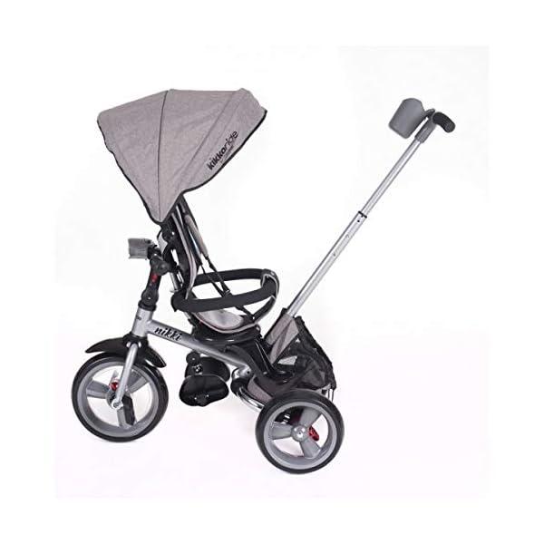Kikka Boo 31006020043 Sports Trolley Kikka Boo KIKKA BOO strollers and strollers Sports prams and strollers for unisex children. Nikki Tricycle Melagne Grey (31006020043) 2