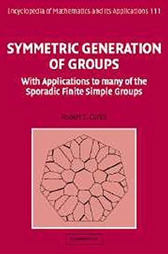 Symmetric Generation of Groups: With Applications to many of the Sporadic Finite Simple Groups (Encyclopedia of Mathematics and its Applications) by Professor Robert T. Curtis (2007-07-30)