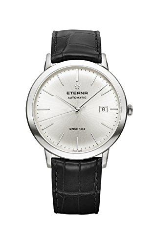 Eterna Eternity Gent Automatik Uhr, SW 200-1, Silber, 40mm, 2700.41.10.1383