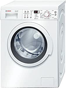 Bosch WAQ20368II Freestanding Front-load 8kg 1000RPM A+++-30% White washing machine - washing machines (Freestanding, Front-load, White, Left, LED, Stainless steel)