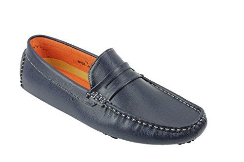Xposed , Chaussures de ville à lacets pour homme Bleu Marine