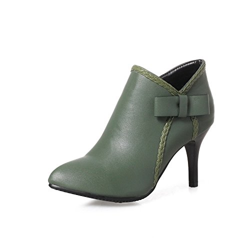 An Andku01838 - Sandales Compensées Vertes Pour Femme