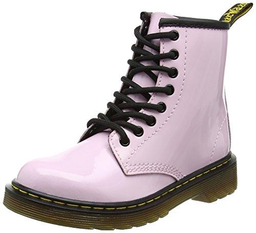 Dr. Martens Delaney, Unisex-Kinder Stiefel, Pink (Baby Pink Patent Lamper), 32 EU (13 Child UK) (Dr. Delaney Martens)