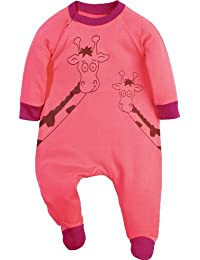 Baby Butt Schlafanzug mit Druckmotiv Giraffe Interlock-Jersey