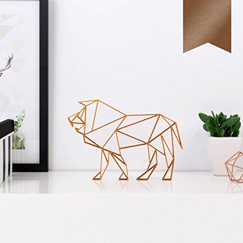 kleinlaut-3d-origamis-aus-holz-wahle-ein-motiv-farbe-sternzeichen-lowe-10-x-71-cm-s-kupfer