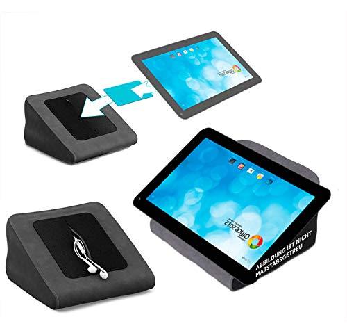 reboon Tablet Kissen für das Blaupunkt Endeavour 1000 WS - ideale iPad Halterung, Tablet Halter, eBook-Reader Halter für Bett & Couch