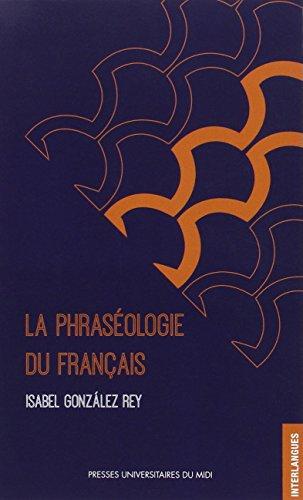 La phraséologie du français
