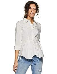 1fd7d3b36554f Amazon.in  White - Western Wear   Women  Clothing   Accessories