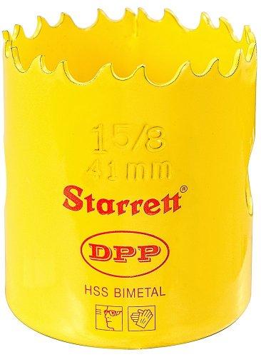 Starrett DH0158 Professionelle Dual Pitch Lochsäge 41 mm 4,3 cm / 20,3 cm (1.5 / 8 Zoll) HSS Bi-Metall