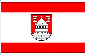 Hissflagge Isselburg - 120 x 200cm - Flagge und Fahne