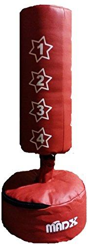 MADX Kinder Box-Set, Standboxsack und Handschuhe, Rot