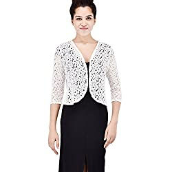 Trendy soft and stylish, cotton net cape. Great looking 3/4th sleeves / sleeveless cape. Made with absolute, this shrug with regular fit will enhance your curves and soft pure cotton fabric will keep you easy. This shrug is extremely stylish and will...