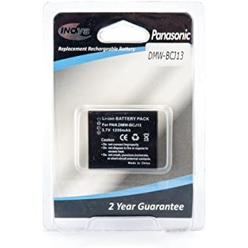 Batteria Patona 1000mAh li-ion per Panasonic Lumix DMC-TZ5,DMC-TZ50
