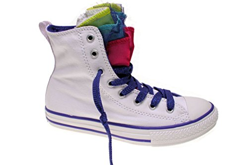 Converse All Star Chucks CT Party Hi White / Periwinkle / Berry Weiß