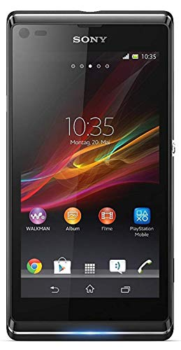 Sony Xperia L - Special.Edition - Smartphone (10,9 cm (4,3 Zoll) Touchscreen, 1GHz, Dual-Core, 1GB RAM, 8 Megapixel Kamera, NFC, Android 4.1) schwarz Neutrale Verpackung