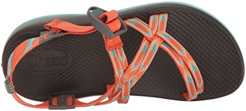 Chaco ZX1 Ecotread Sandal (Toddler/Little Kid/Big Kid) Zigzag Coral