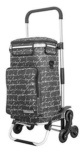 Rubberneck Einkaufstrolley - Klappbarer Einkaufswagen - Kühlfach - Höhenverstellbarer Griff