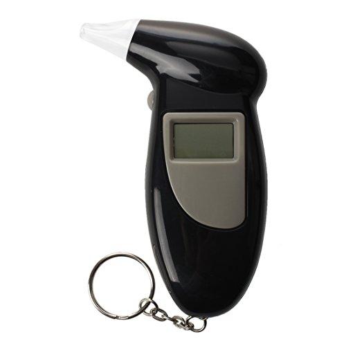 SODIAL(R) mini Breathalyser alcootest Testeur Promille avec porte- cles