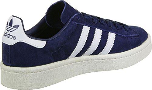 adidas Herren Campus Sneaker Blau (Dark Blue/Footwear White/Chalk White)