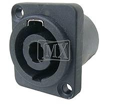 MX 4 PIN MIC & SPEAKER FEMALE CONNECTOR (SPEAKON TYPE) MX-1248