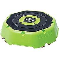 Escape Fitness USA Escape Riser-Plataforma para Ejercicios aeróbicos, cardiovasculares y plyométricos, Verde