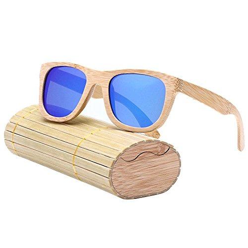 Pawaca Damen Sonnenbrille blau blau