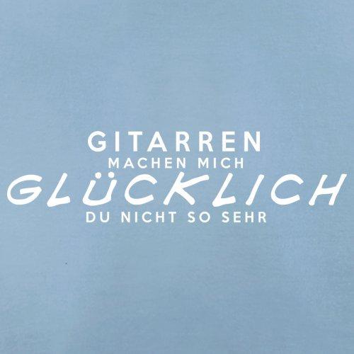 Gitarren machen mich glücklich - Herren T-Shirt - 13 Farben Himmelblau