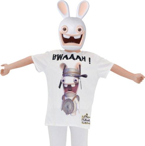 Masque et T-shirt Lapins Crétins - taille - Taille Unique - 219112