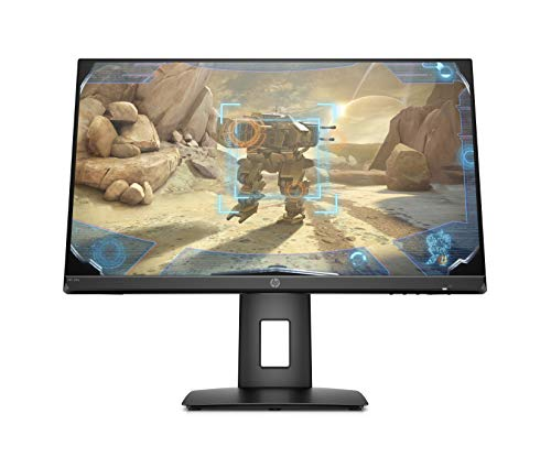 HP 24x (23,8 Zoll / Full HD 144Hz) Gaming Monitor (AMD FreeSync, 1 x DisplayPort, 1 x HDMI, Reaktionszeit 1ms) schwarz
