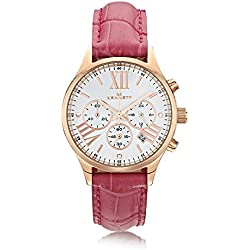 Kennett Ladies Lady Savro Rose Gold Hot Pink Empire Watch LSERGWHHTPK
