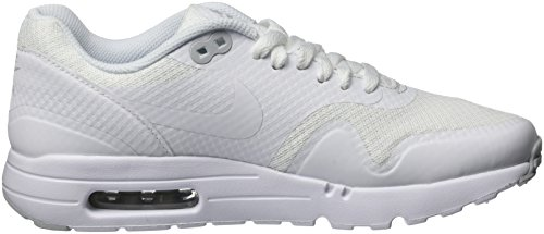 Nike Air Max 1 Ultra Essential, Chaussures de Running Entrainement Homme Blanco (White / White-Pure Platinum)
