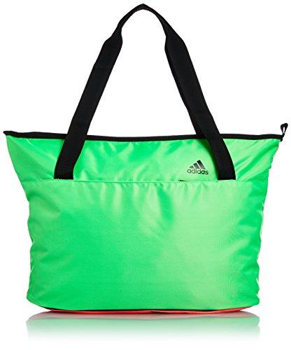 adidas Damen You Tragetasche grün/neonpink