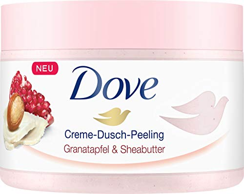 Dove Creme Dusch Peeling Granatapfel und Sheabutter,