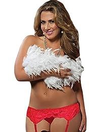 porte jarretelles en dentelle et string taille unique large lingerie sexy