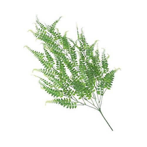 Fenteer Plastik Künstliche Palme Palmfarn Pflanzen Kunstpflanze 80cm - Persischer Rattan