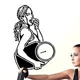 Auto Gewicht weniger Gym Aufkleber Fitness Waage Mädchen